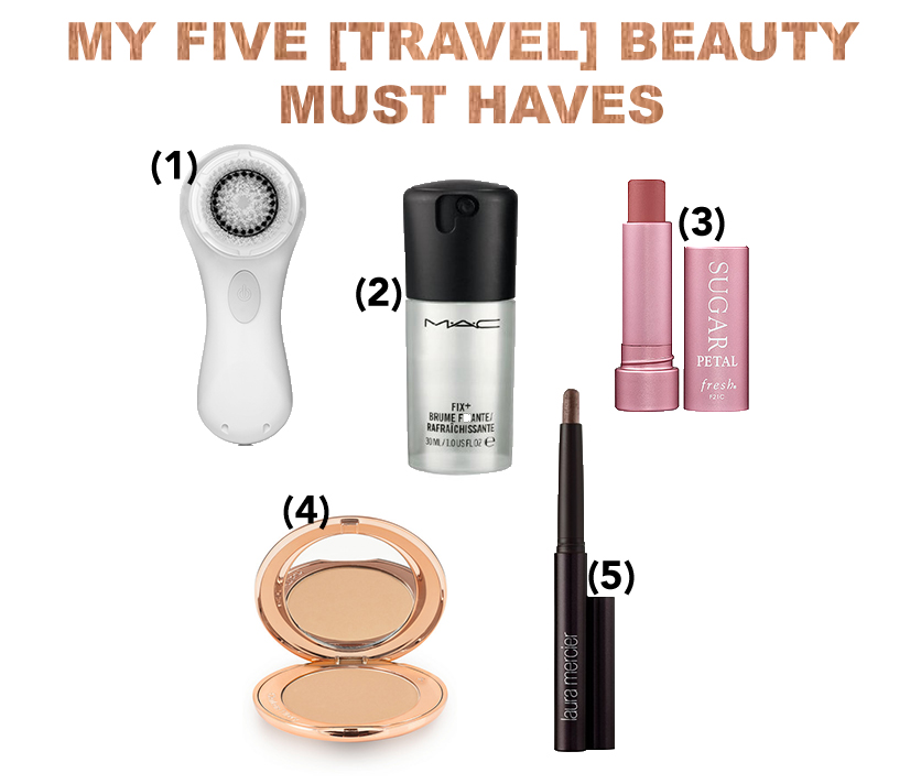Five Beauty Products I ALWAYS Travel With