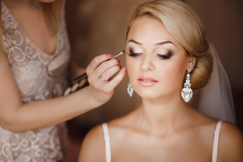 Perfect Wedding Makeup Application